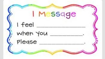 i feel message printable