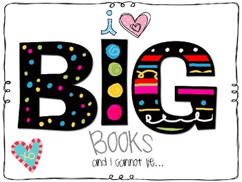 i {heart} big books and i cannot lie Fun Classroom Sign!