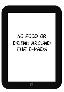 i-pad rules