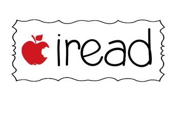 i read- reading display