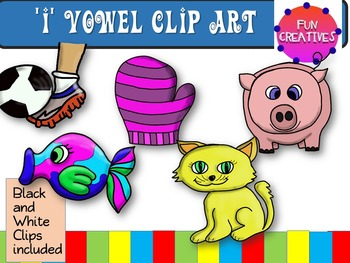 i vowel Clip Art