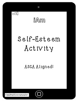 iAm - A free activity sheet on self-esteem and individuality