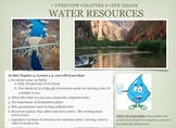 Science WATER RESOURCES Lesson - iBOOKs version (FULL lesson)