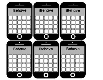 iBehave Behavior Punch Cards