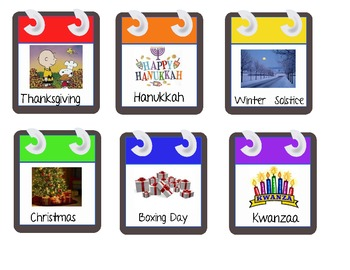 iCal Calendar Pieces for your Classroom!