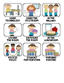 PBIS I Can Class Procedure and Whole Class Management System