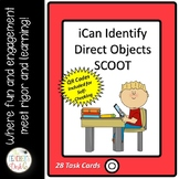 iCan Identify Direct Objects SCOOT with QR Codes
