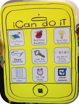 iCan Test Prep Poster