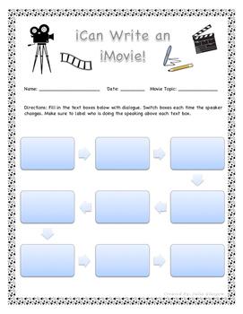 iCan Write an iMovie!