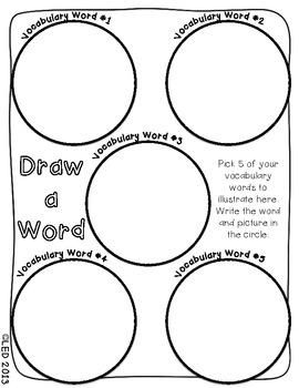 iChoose: Vocabulary Choice Board Activity
