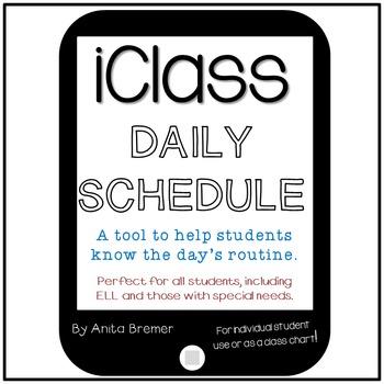 iClass Daily Schedule