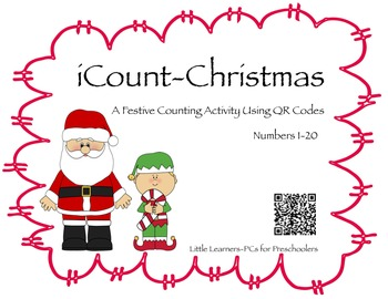 iCount-Christmas A fun Christmas Counting (1-20) Activity