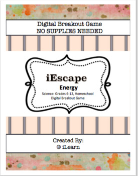 iEscape Energy (Digital Breakout Game)