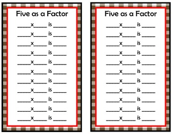 iFacts: Multiplication Facts Fluency