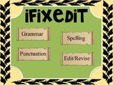 Daily Oral Language (DOL) Grammar-Revise/Edit Kinder - 4th