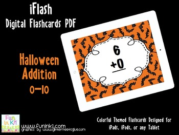 iFlash Halloween Addition Digital Flashcards PDF