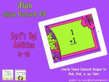 iFlash Surf's Up Addition Digital Flashcards PDF