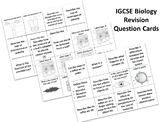 iGCSE BIOLOGY - Skills Revision Question Cards