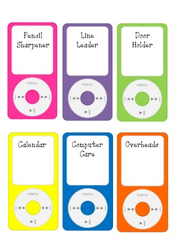 iHelp: Classroom Jobs Kit (Tech Savvy Classroom!)