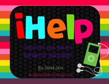 iHelp Classroom Jobs {editable!}