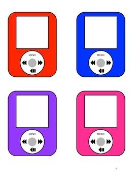 """""""iHelp"""" iPod Themed Classroom Jobs"""
