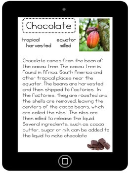 Nonfiction Reading- Chocolate