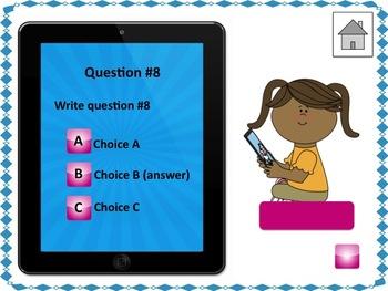 Powerpoint game editable template test prep ipad theme by sweet powerpoint game editable template test prep ipad theme toneelgroepblik Gallery