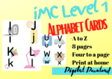 iMC Level one, Alphabet Cards, VIPKID