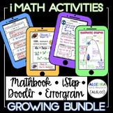 Algebra 1 and 2 Activities Bundle (iMath)