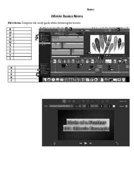 iMovie Basic Notes