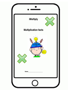 iMultiply student iphone multiplication fact books
