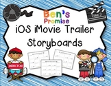 iOS iMovie Trailer Storyboards