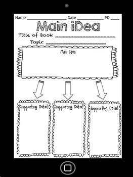 iOrganizers: Graphic Organizers for ELA/Reading