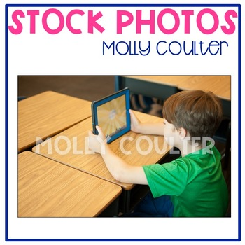 Stock Photo Styled Image: Student With iPad #1 -Personal &
