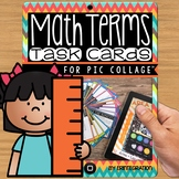 iPad Task Cards: Create Math Digital Posters for Pic Collage
