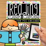 iPad Pic Collage Task Cards: Reading Digital Projects