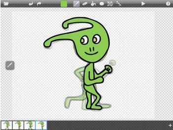 iPad Animation Figure Drawing Art Lesson and Tutorial on Doink