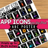 iPad App Icons ABC Poster