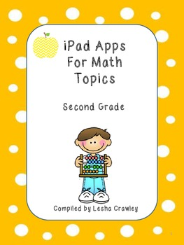 iPad Apps for Math Topics - Second Grade