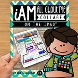 iPad All About Me Activity using the app PicCollage FREE