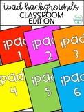 iPad Background Identification Numbers