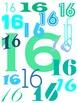 iPad Background Numbers 1-30