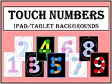 iPad Background - Touch Numbers (1-9)