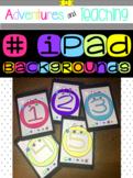 iPad Backgrounds {FREEBIE}