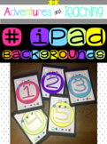iPad Backgrounds {FREEBIE}
