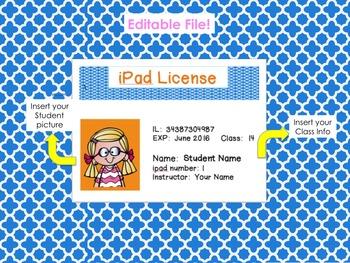 iPad Basics and License