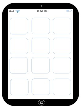 iPad Book Report Template