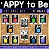 Editable Bulletin Board and Door Decor: Tablets