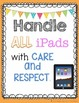iPad Care Posters