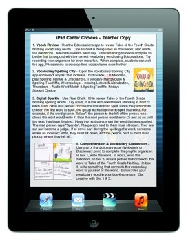 iPad Center Ideas